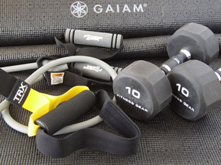 Sgt Rud Personal Training Equipment